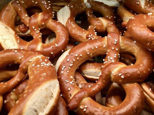 pretzel  pastries  snack
