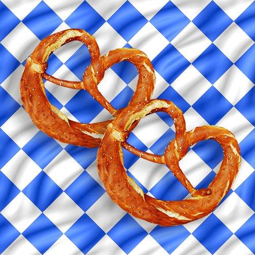 pretzels  laugenbrezeln  salty