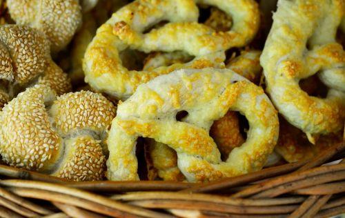 pretzels pastries cheese pretzels