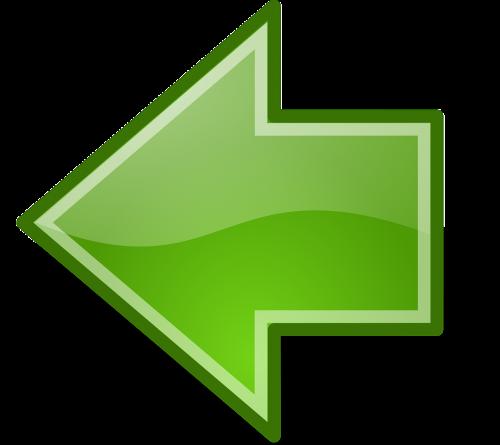 previous backward arrow