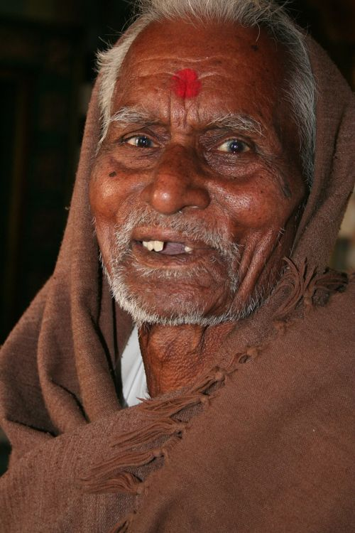 priest face rajasthan