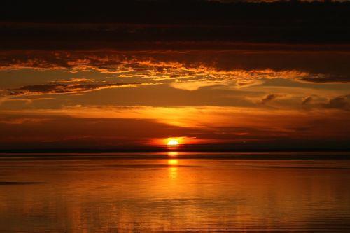 prince edward island sunset dusk