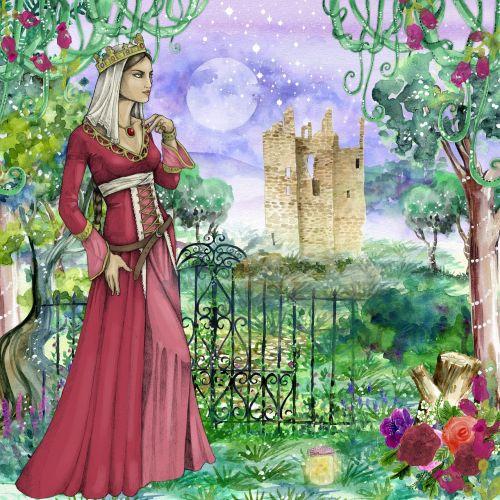 princess castle fairy tale
