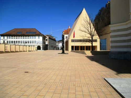 principality of liechtenstein architecture parliament square