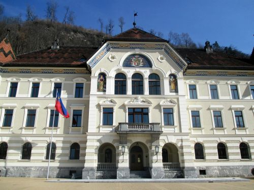 principality of liechtenstein government buildings architecture