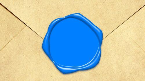 print envelope blue print