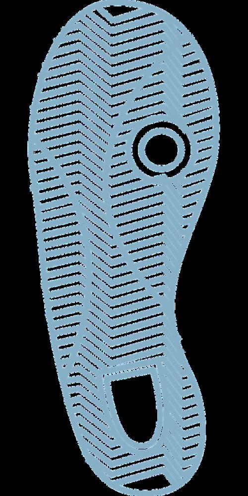 print foot footwear