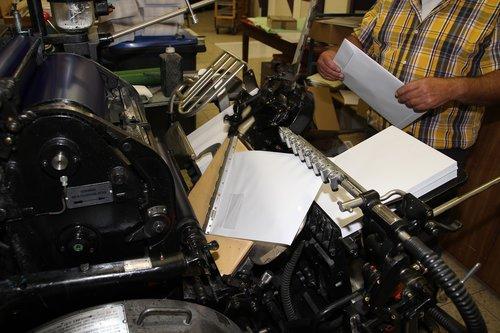 print  book printing  letterpress