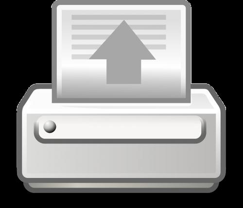 print printer document