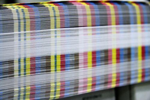 printed matter paper press
