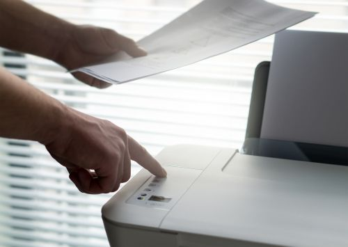 printer using print