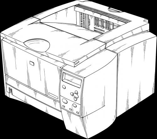 printer laser copy