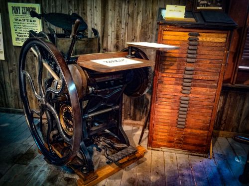 printing press antique