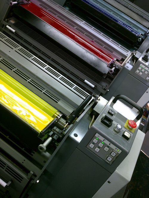 printing colors colorful