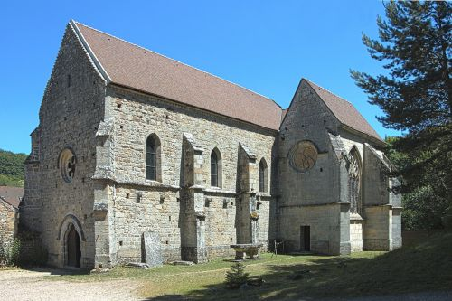 priory val st-benedict to epinac monastery monument