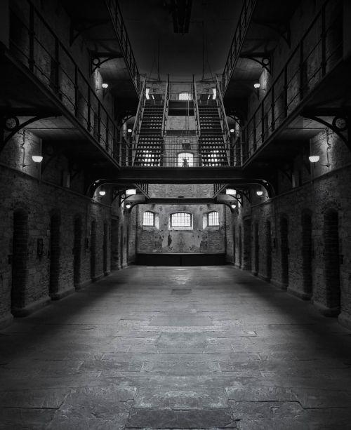 prison jail dark
