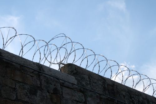 prison wire barbed
