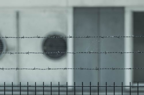 prison fence barrier
