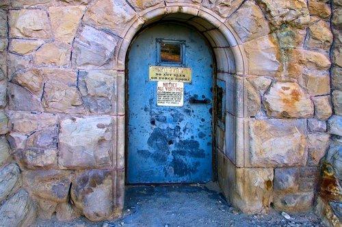 prison  door  jail