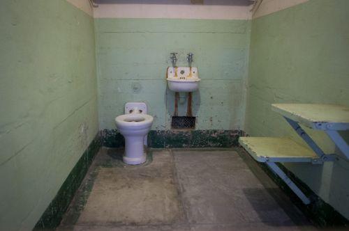 Prison Cell Bathroom