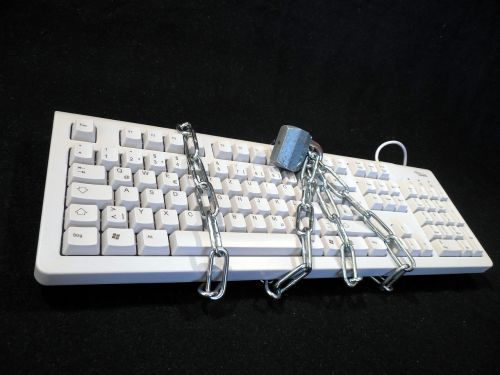 privacy policy locked keyboard