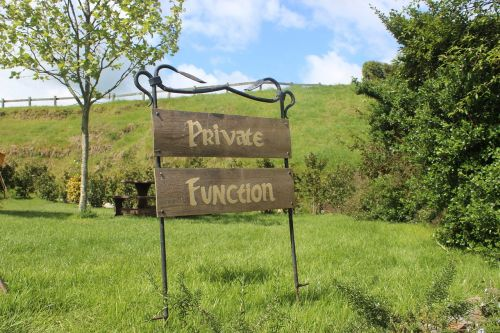 private function sign nz