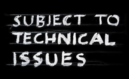 problem technical issues