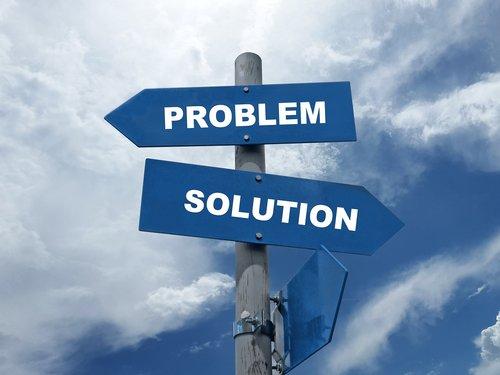 problem  solution  decision