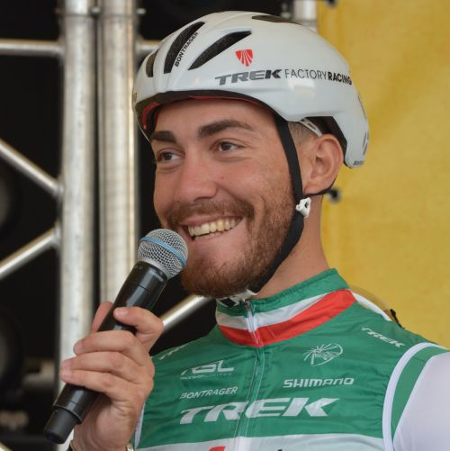 professional road bicycle racer interview italian champion