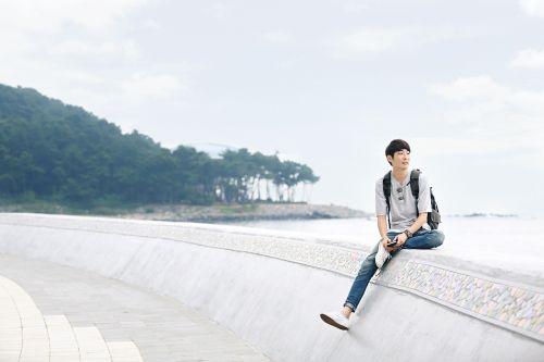 profile picture of yourself haeundae beach