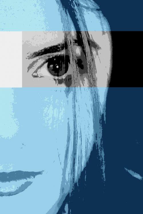 profile woman feelings