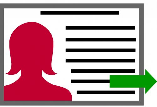 Profile File Clipart