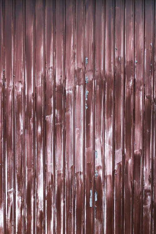 profile sheet  weathered  garage door
