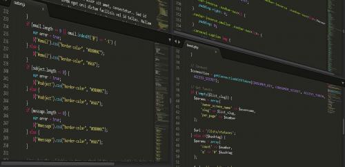 computer computer code programming