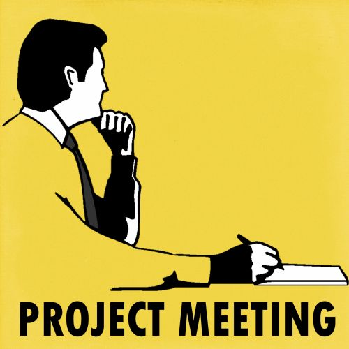 Project Meeting Planning Sign