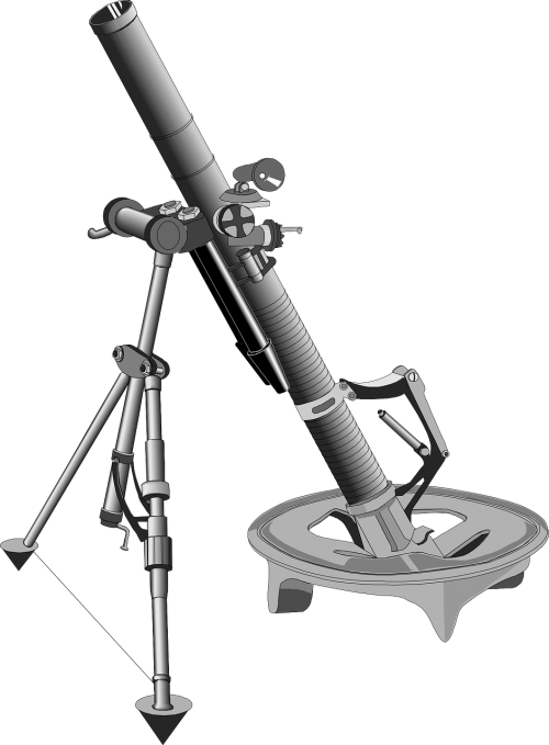 projectile mortar weapon