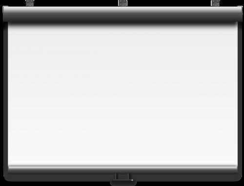 projector screen slide