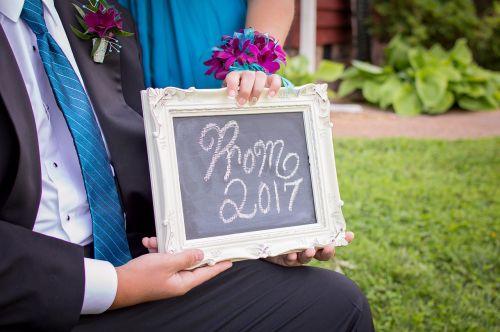 prom 2017 couple senior