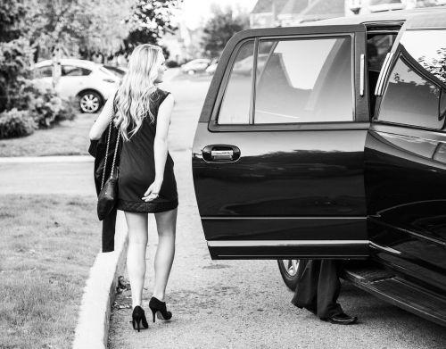 prom limousine dresses