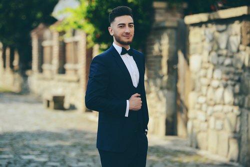 prom  suit  bowtie