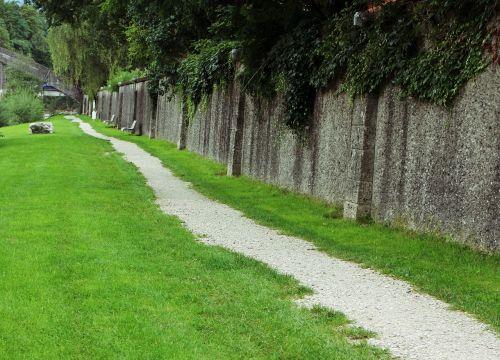promenade path away