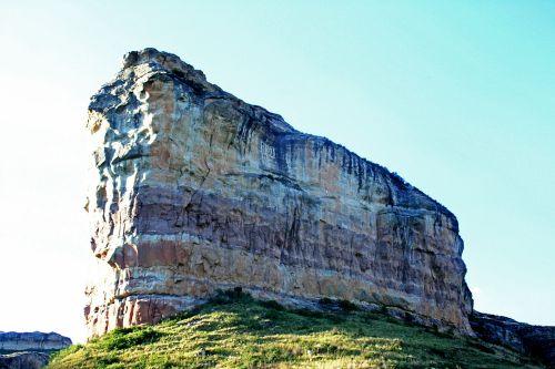 Prominent Sandstone Cliff