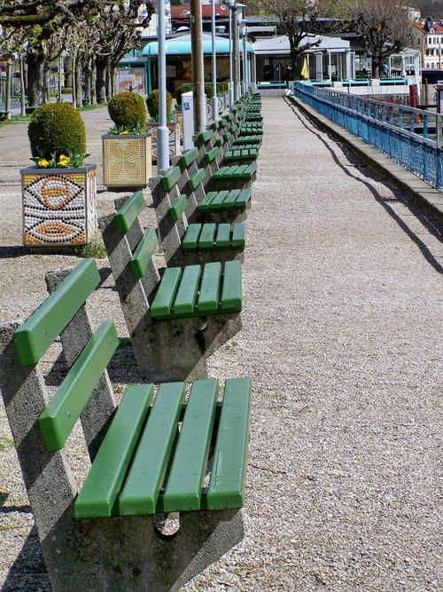 promo  benches  gmunden