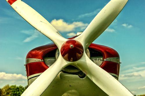 propeller aircraft propeller plane