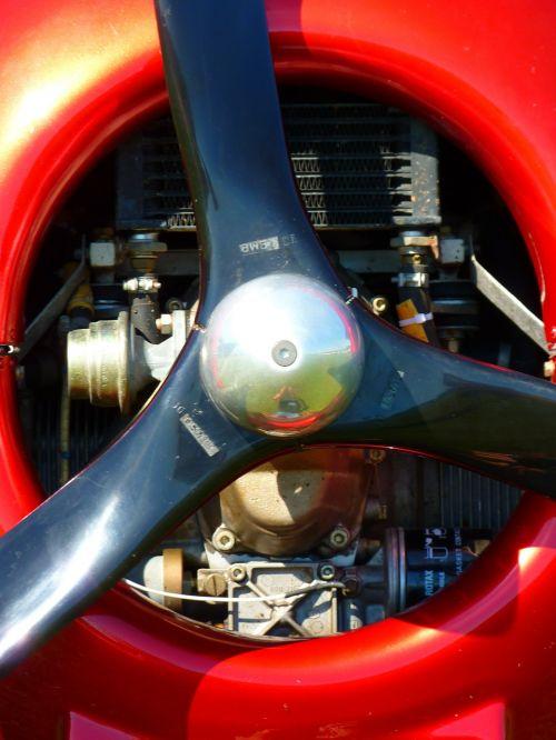 propeller motor aircraft