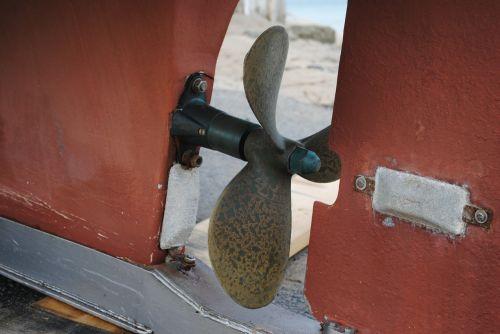 propeller anode boat
