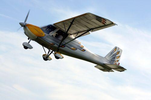 propeller plane aircraft double decker