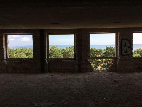 prora ruin view