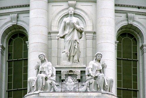 prosperity and abundance  statuary  sculpture