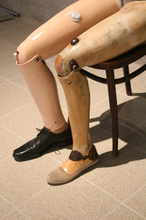prosthetic  artificial limb  leg